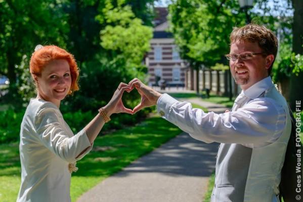 Bruidspaar Sjoerd en Beata - 5 juni Marienhof