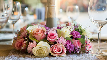 bruidsboeket bloemstyling bloemen bruiloft