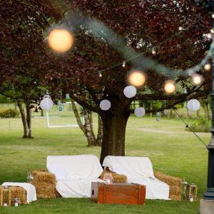 bruiloft dekenkist lounge