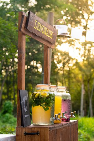 limonade bar jars festival